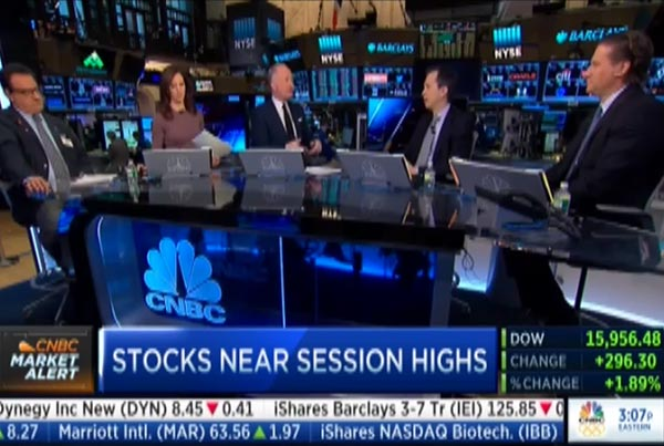 CNBC – Is The Market Signaling a Recession?