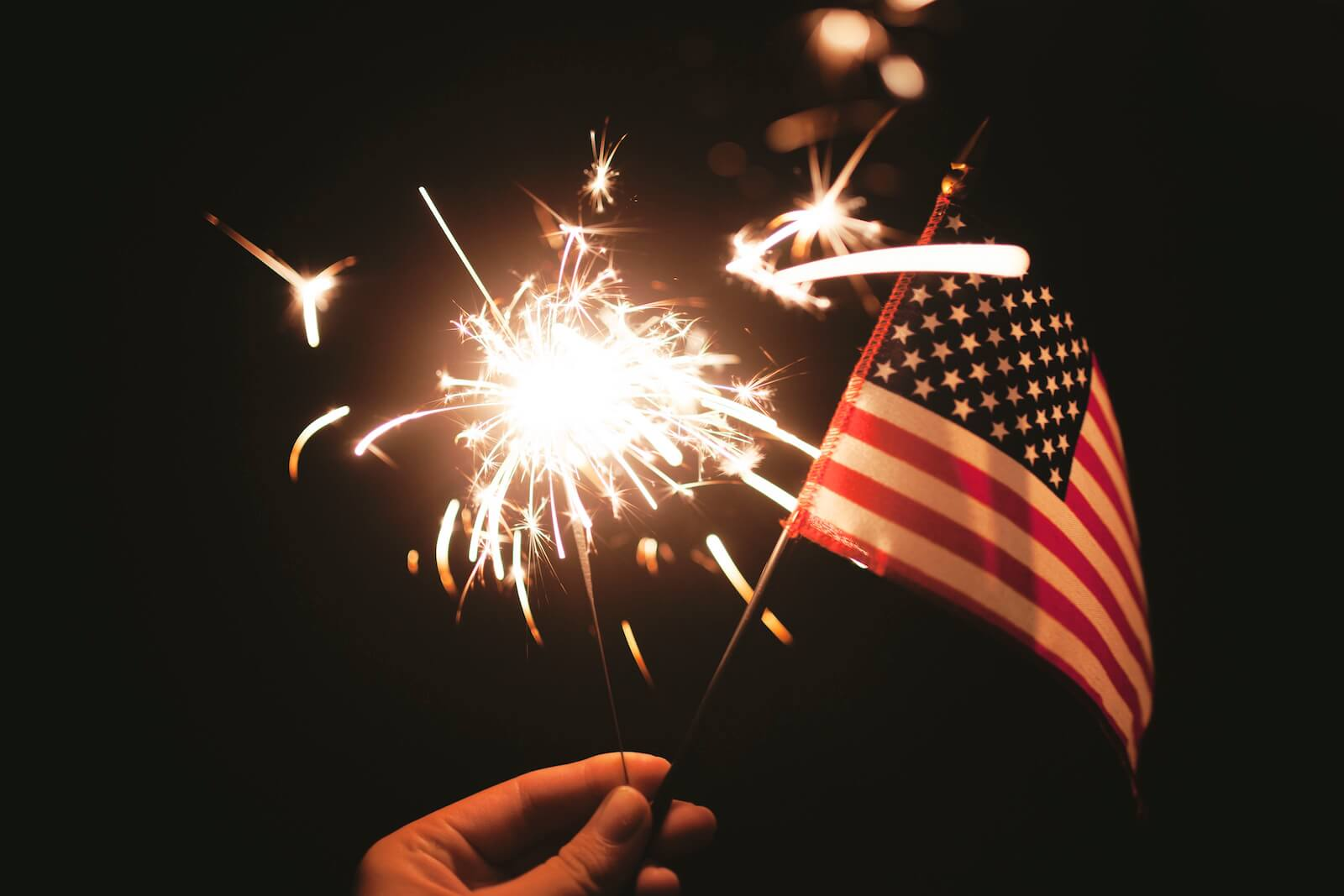 Markets have fireworks prior to 4th of July