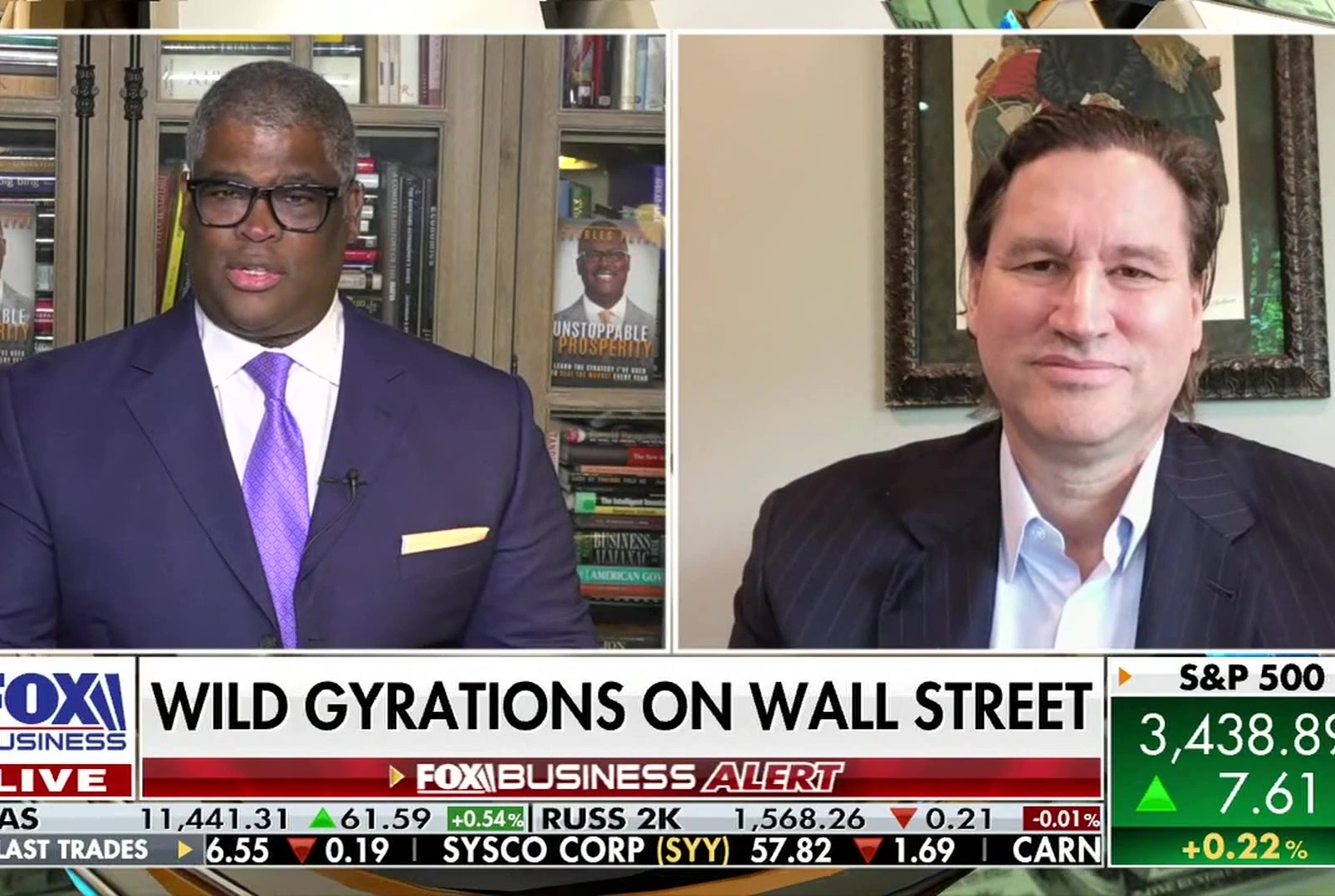 Wild Gyrations On Wall Street