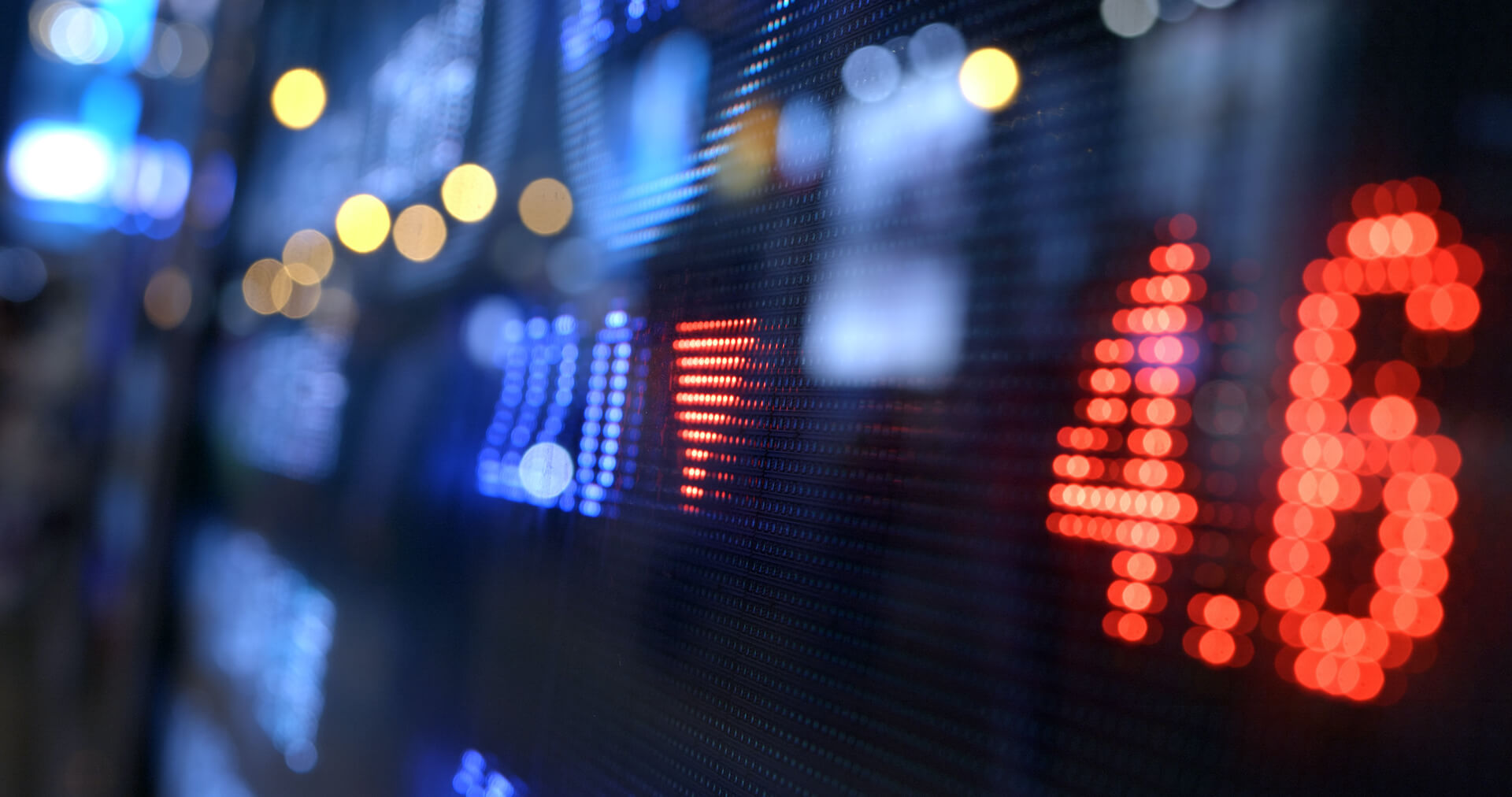 Why were the markets lower in September?