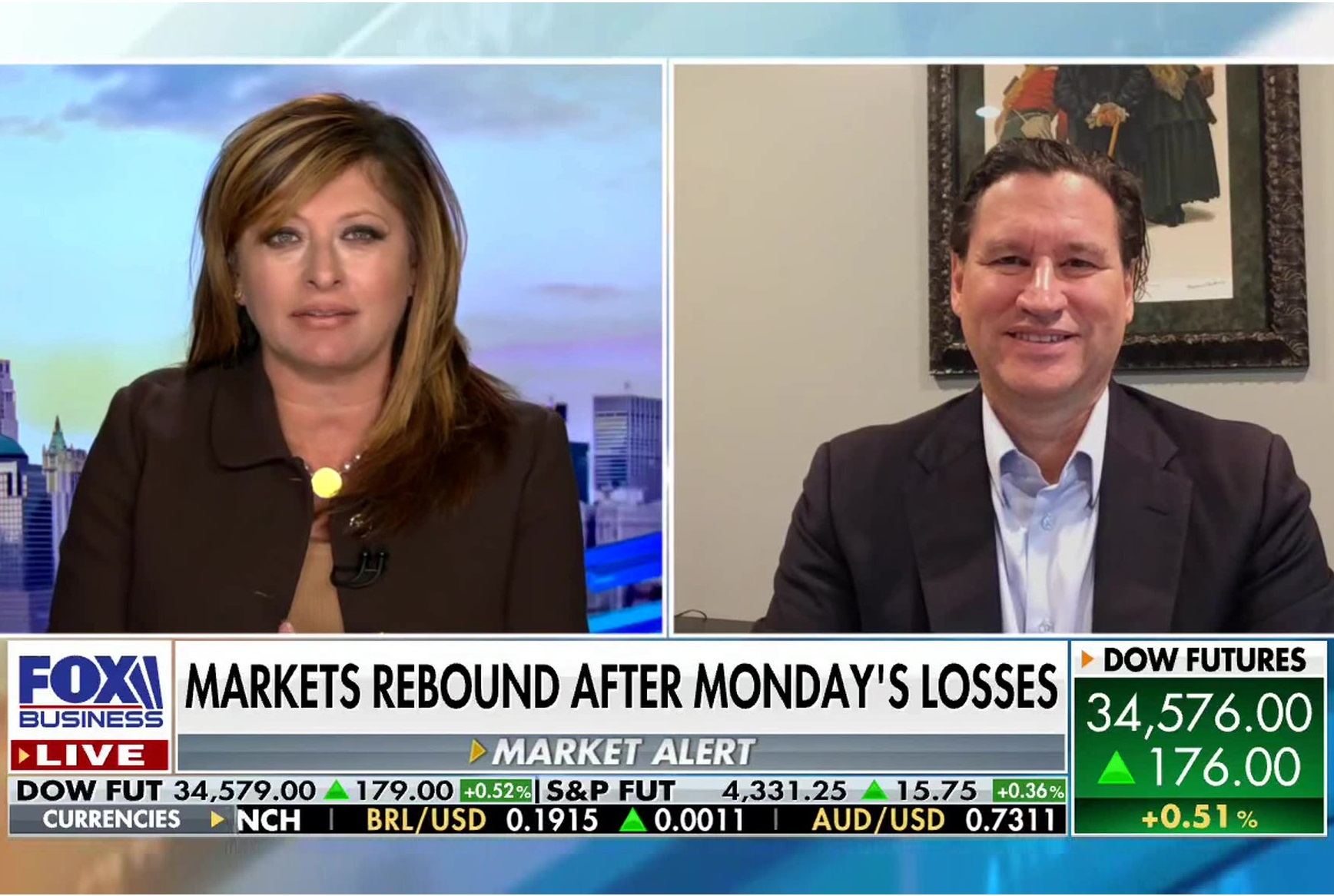 Markets Rebound After Monday's Losses