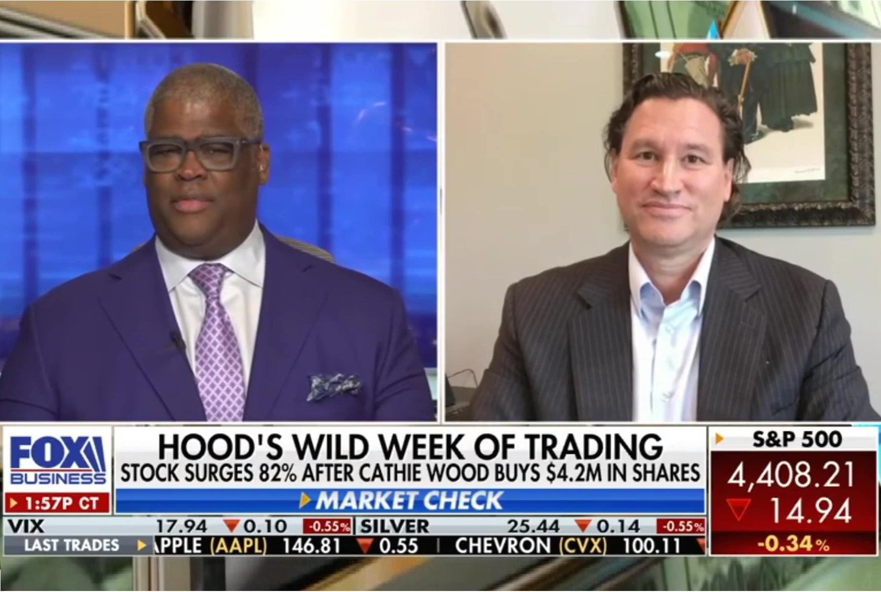 Hood's Wild Week of Trading